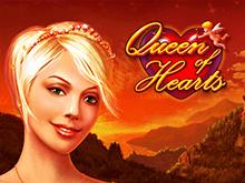 На зеркале казино автоматы Queen Of Hearts